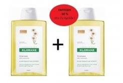 2 x Klorane Shampoo with Chamomile, 2 x 400ml