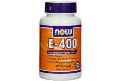 Now E400 IU w/ Selenium, 100 softgels