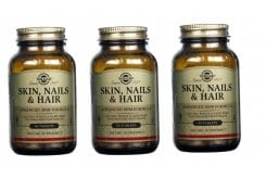 3 x Solgar Skin, Nails & Hair Formula, 60tabs