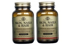 2 x Solgar Skin, Nails & Hair Formula, 2 x 60tabs