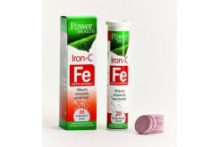 Power Health Iron + C, 20 effervescent tablets.