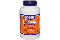Now Kelp Caps, 325 mcg Natural Iodine, 250 vcaps