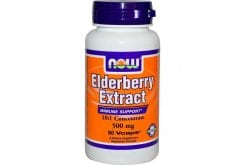 Now Elderberry Extract 500 mg (10