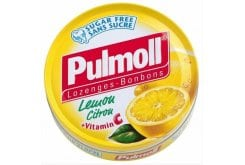 Pulmoll, candies and cough drops lemon and vitamin C 50g