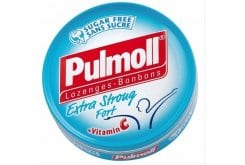 Pulmoll Extra Strong Fort, candies and cough drops with vitamin C 50g