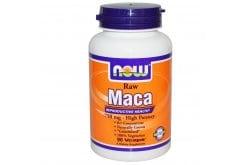 Now Maca 750mg Raw (6:1) Συμπλήρωμα από το Φυτό Maca, 90vcaps