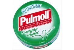 Pulmoll, candies and cough drops with eucalyptus and menthol 50g