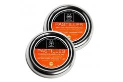2x APIVITA Pastilles for Sore Throat and Cough Relief with liquorice & propolis (Offer 1+1), 45g