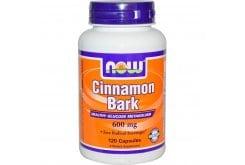 Now Cinnamon Bark 600 mg, 120 caps