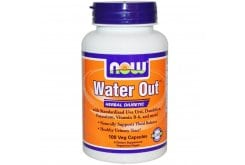 Now Water Out Herbal Diuretic, w/ Vitamin B-6, 100 Vcaps
