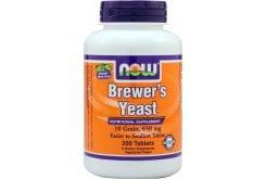 Now Brewers Yeast 650 mg, 10 Grain (Vegetarian), 200 tabs