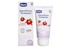 Chicco Toothpaste 12m+, Οδοντόκρεμα με γεύση Φράουλα , 50ml