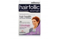"Εικόνα του ""Vitabiotics Wellwoman Hairfollic (Tricologic) Woman, 60 ταμπλέτες """