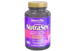 Nature's Plus, Νutrasec, 90 chewable tabs