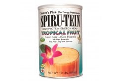 Nature's Plus, SpiruTein Tropical Fruit, 544 gr