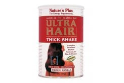 Nature's Plus Ultra Hair Thick Shake Vanilla Flavor, 454 gr