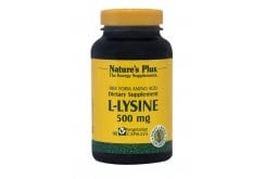 "Εικόνα του ""Nature's Plus, L Lysine 500 mg, 90 vcaps """