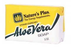 Nature's Plus Aloe Vera Soap Φυσικό Βιοδιασπώμενο Σαπούνι με Αλόη, 86 gr