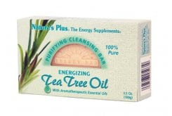 Nature's Plus Tea Tree Oil Cleansing Bar, 100 gr