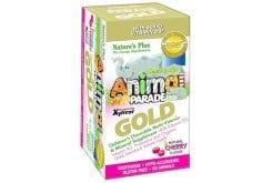 Nature's Plus Animal Parade Gold Cherry Πολυβιταμινούχα Ζελεδάκια για Παιδιά, με γεύση κεράσι, 60 gummies