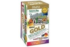 Nature's Plus Animal Parade Gold Πολυβιταμινούχα Ζελεδάκια για Παιδιά με ποικιλία γεύσεων, 60 gummies