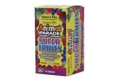 Nature's Plus Animal Parade Super Fruits Παιδική Αντιοξειδωτική Φόρμουλα σε Ζελεδάκια, με γεύση μούρων, 90 gummies