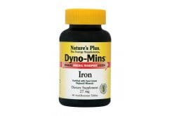 "Εικόνα του ""Nature's Plus, Dyno Mins Iron 27mg, 90 tabs """