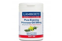 LAMBERTS PURE EVENING PRIMROSE OIL 500MG, 180 caps