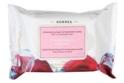 Korres Pomegranate Cleansing & Make-Up Removing Wipes, 25 wipes