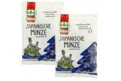 2x Kaiser - Japanese Mint oil, ( 1 + 1 ΔΩΡΟ ) Καραμέλες για τον ερεθισμένο λαιμό & τον βήχα, Mε εκχύλισμα Ιαπωνικής Μέντας. Μαλακώνουν το λαιμό & ελευθερώνουν την αναπνοή, 2x 75 gr