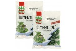 "Image of ""2x Kaiser - Bimenthol, ( 1 + 1 free ) 75g, Candies for sore throat and cough, with Peppermint & Eucalyptus"""
