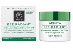 Apivita Bee Radiant Light Cream Αντιγηραντική Κρέμα Προσώπου ελαφριάς υφής