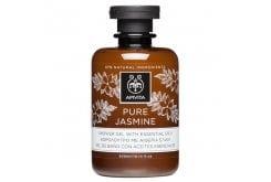 Apivita Pure Jasmine Shower Gel with Essential Oils Αφρόλουτρο με Αιθέρια Έλαια & Άρωμα Γιασεμί, 300 ml