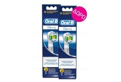 2 x OralB 3D White (1+1) Ανταλλακτικά Βουρτσάκια, 2 x 2 τεμάχια