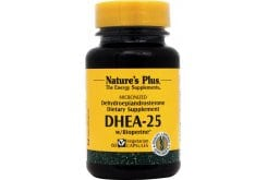 Nature's Plus Bio DH (DHEA) 25mg, 60 caps