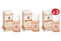 3x Bio Oil PurCellin Oil Ειδική Περιποίηση της Επιδερμίδας , 3x 60ml