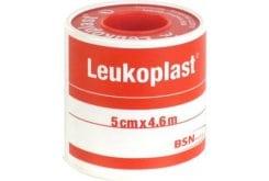 Leukoplast Αυτοκόλλητη Επιδεσμική Ταινία, 5cm x 4.6m