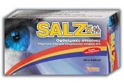 Salz 5%, Οφθαλμικές Σταγόνες, 50amps x 0.50ml