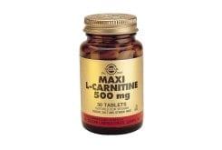 Solgar L-CARNITINE 500mg, 30 tabs