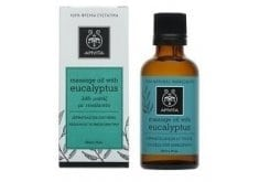 """Εικόνα του """"Apivita Eucalyptus Λάδι μασάζ για τον χειμώνα, Με Ευκάλυπτο & δεντρολίβανο,50ml """""""