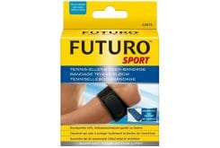 Futuro Sport Tennis Elbow Support, Provides relief from general pain and tenderness in the forearm and elbow caused by activities requiring a strong grip or active finger movement.