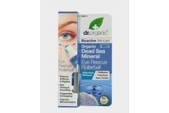 Dr. Organic Dead Sea Mineral Eye Rescue Rollerball, 15 ml