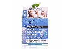 Dr. Organic Dead Sea Mineral Night Cream, 50 ml