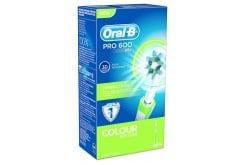 """Εικόνα του """"OralB Ηλεκτρική Οδοντόβουρτσα PRO 600 Cross Action - Colour Edition Πράσινο, 1 τμχ """""""