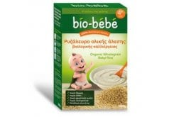Bio Bebe Ρυζάλευρο Ολικής Αλεσης Βιολογικής Καλλιέργειας 4+ μηνών, 200 gr