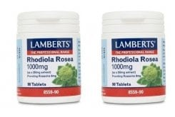 """Εικόνα του """"2x LAMBERTS RHODIOLA ROSEA 1000mg, 2x 90 tabs """""""