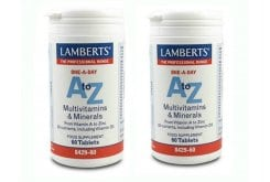 "Εικόνα του ""2xLAMBERTS A to Z MULTI VITAMINS, 60 tabs """