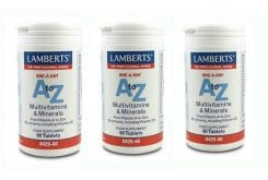 3xLAMBERTS A to Z MULTI VITAMINS, 60 tabs
