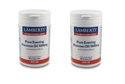 "Εικόνα του ""2x LAMBERTS PURE EVENING PRIMROSE OIL 1000MG, 2x 90 caps """