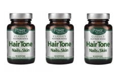 3 x Power Health Classics Platinum Hair Tone Nails & Skin, 3 x 30caps